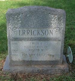 Ida A <i>Errickson</i> Britton
