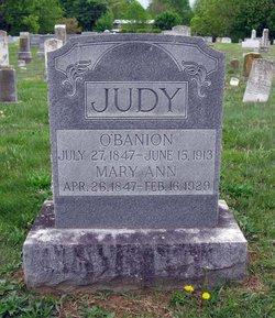 Mary Ann <i>Grove</i> Judy