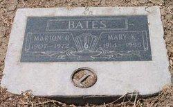 Mary Matie <i>McCord</i> Bates