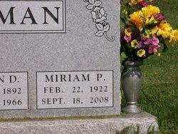 Miriam Pauline Aunt Mimi Huffman