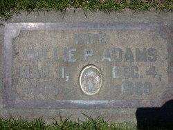 Willie Pearl Adams