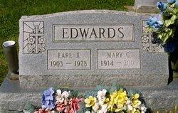 Mary Frances <i>Garriott</i> Edwards