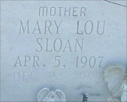 Mary Lou <i>Sloan</i> Griner