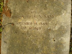 Marion McLeod <i>Hutson</i> Sass