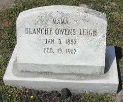 Blanche Elizabeth <i>Owens</i> Leigh