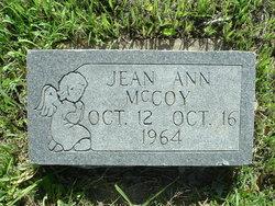 Jean Ann McCoy