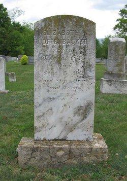 Elizabeth M Offenbacker