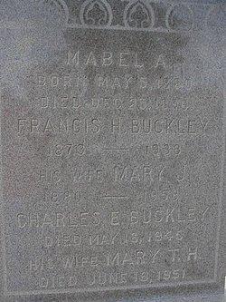 Mary A Mamie <i>Houston</i> Buckley