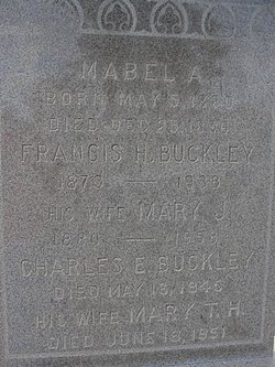 Charles E Buckley