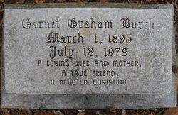 Garnet Sue Baker <i>Graham</i> Burch