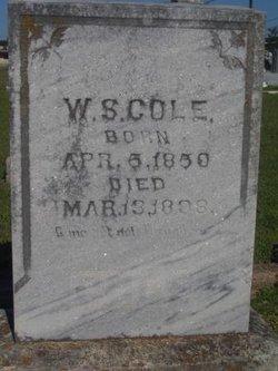 W. S. Cole