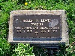 Helen K <i>Lewis</i> Owens