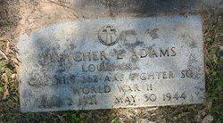 Fletcher Eugene Adams