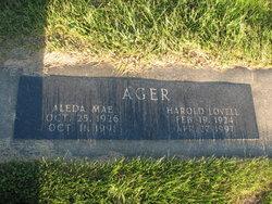 Harold Lovell Ager