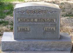 Alice E. Benson