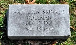 Kathleen <i>Skinner</i> Coleman