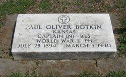 Capt Paul Oliver Botkin