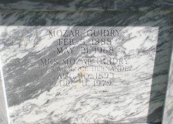 Mozar Guidry