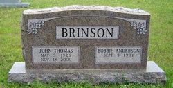 Bobbie <i>Anderson</i> Brinson