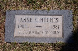 Anne E Hughes
