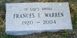 Frances I. Warren