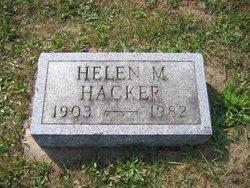 Helen M <i>Miller</i> Hacker