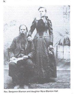 Mary Ann Almira Myra <i>Blanton</i> Hall