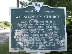 Welsh Neck Baptist Church Cemetery