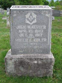 Mary Ann Elizabeth <i>Kibler</i> Keyser