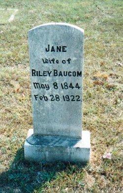 Jane <i>Rushing</i> Baucom