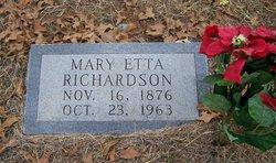 Mary Etta <i>McKinney</i> Richardson