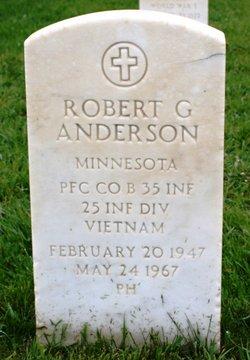 PFC Robert Gary Bobby Anderson