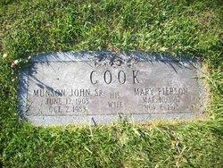 Mary <i>Pierson</i> Cook