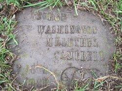 George Washington Melethel Campbell