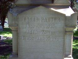 Edgar Baxter