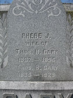 Phebe Jane <i>Ball</i> Gary