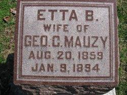 Etta B. <i>Wooster</i> Mauzy
