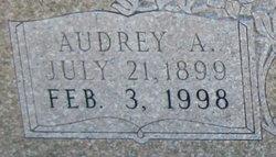Audrey A Anthony