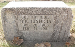 Joe Lamiquis Anchustegui