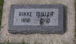 Fredrikke Anna Rikke <i>Christensen</i> Miller