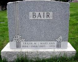 Mary Ann <i>Eschelman</i> Bair
