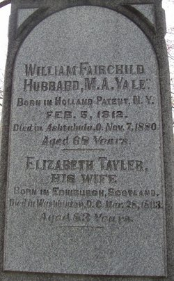 Elizabeth <i>Tayler</i> Hubbard