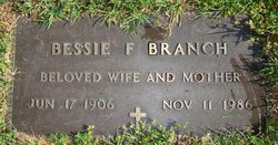 Bessie F. Branch