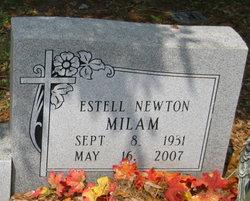 Estell <i>Newton</i> Milam