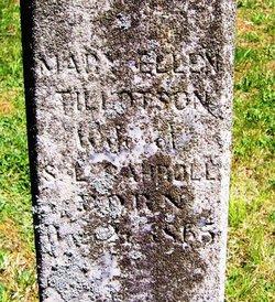 Mary Ellen <i>Tillotson</i> Carroll