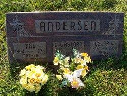 Mae <i>Benson</i> Andersen