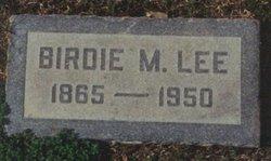 Birdie Myra <i>Martin</i> Lee