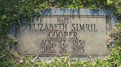 Elizabeth <i>Simril</i> Cooper