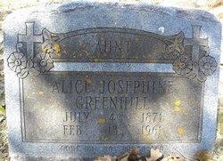 Alice Josephine Greenhill
