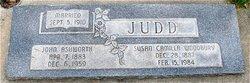 Susan Camilla <i>Woodbury</i> Judd
